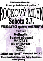 © Rockový mlýn Vrchoslavice - 2005