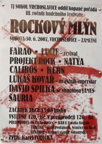© Rockový mlýn Vrchoslavice - 2007