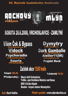 © Rockový mlýn Vrchoslavice - 2008