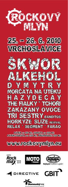 © Rockový mlýn Vrchoslavice - 2009